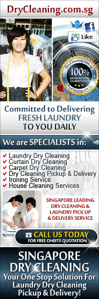 Singapore No 1 Laundry Dry Cleaning, Curtain Dry Cleaning, Carpet Dry Cleaning, Dry Cleaning Pickup & Delivery, Ironing Service & House Cleaning Services