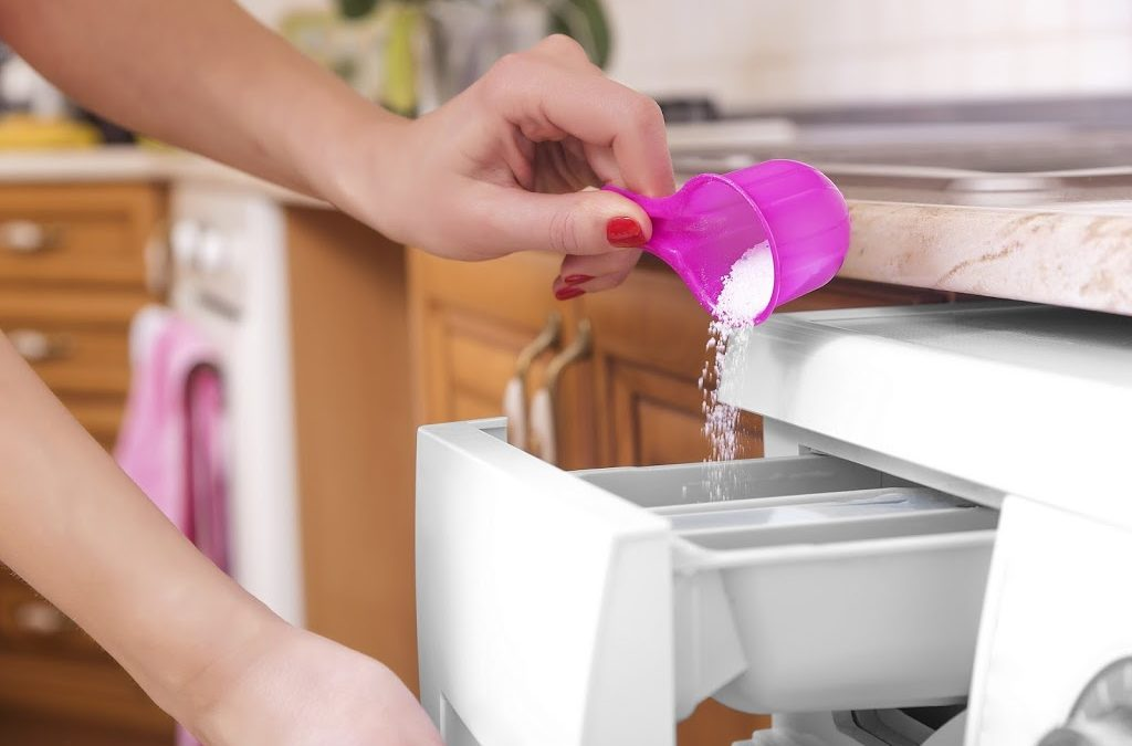 Disinfecting laundry and bedding