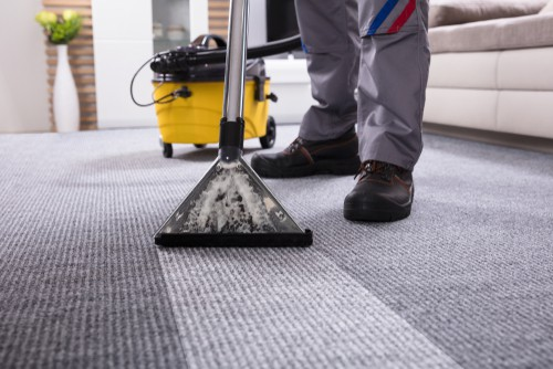 Carpet cleaning steam machine
